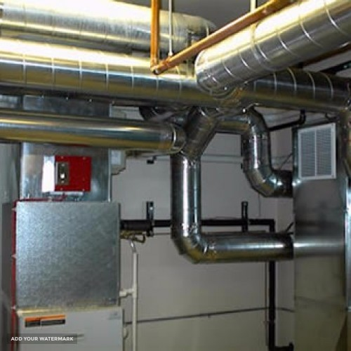 Full-cycle engineering services in the air-conditioning and ventilation system